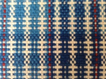 Detail of Cambrian Wool Challenge 100% Welsh wool fabric.